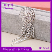 Fashion korea brooch Big flower high-grade lovely crystal brooch funny fashion jewelry vintage brooch