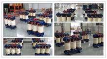 Dry Type High Voltage Power Transformer Manufacture 1250 Kva / 400v