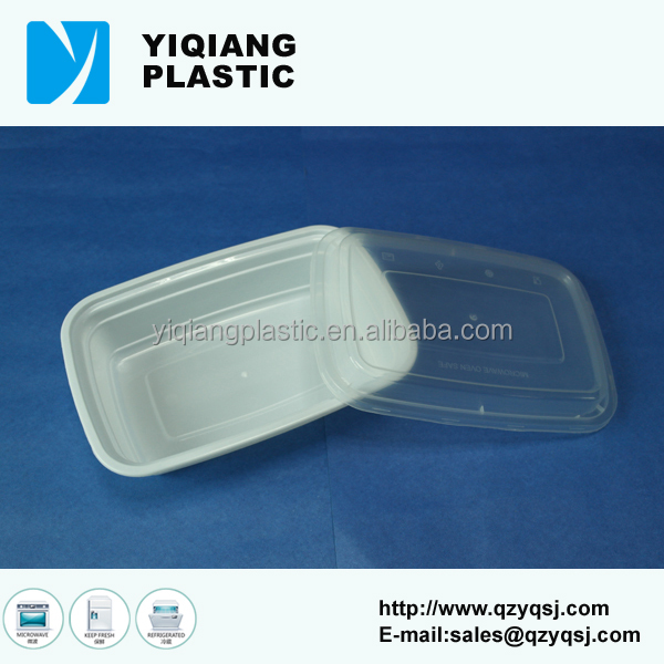 White 1000ml plastic where to buy take out food containers