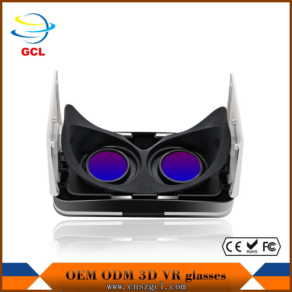 Factory price vr 3d glasses for pc games/movies/xbox one With Stable Function