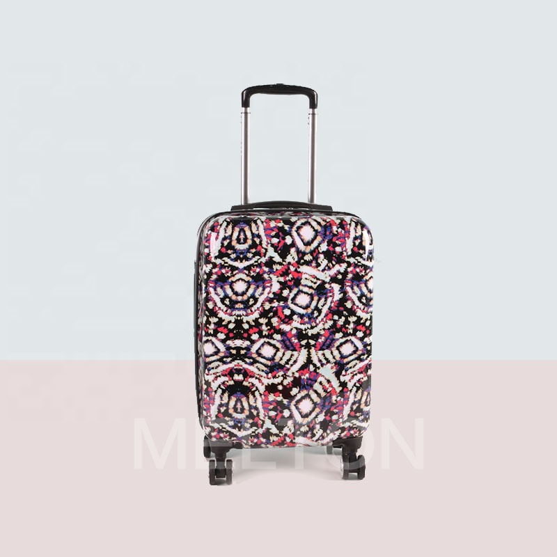 3 PCS HIGH QUALITY TRAVEL LUGGAGE SET <strong>ABS</strong> WITH PC FASHION FILM SET SUITCASES