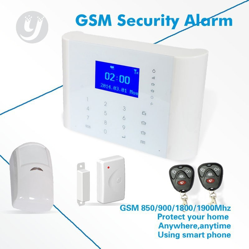 433/315MHz Frequency GSM Security Alarm System Manufacturer LYD-116