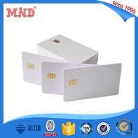 MDI241 custom wholesale blank pvc ntag203 nfc business smart card