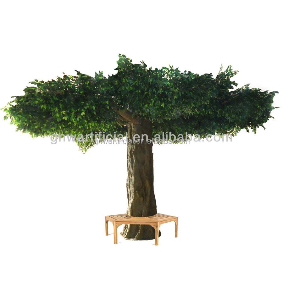 GNW BTR011-5 Good quality and price artificial Ficus Banyan Tree for sale