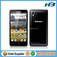 Lenovo P780 Mobile Phone MTK6589 Quad Core 3G Smartphone 5 inch IPS 8GB Android 4.2 Multi language-White/Black