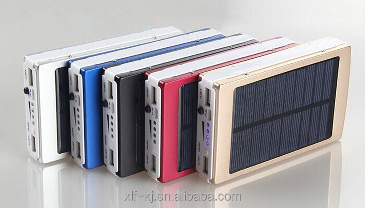 Manufacturer solar panel 20000mAh Portable Solar Charger power bank for smart phone and laptop