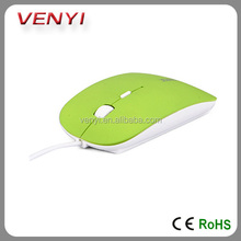 Fashionable Retractable Mouse Fashion USB Mouse Cable PC Optical Mouse