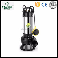 2HP WQD-B open swirling submersible sewage pump agricultural irrigation equipment