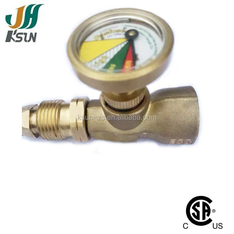 Alibaba China New Product propane tank Gas Lpg Pressure Gauge With AGA Approved