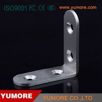 Furniture 90 degree building 4 hole galvanized steel brackets for timber