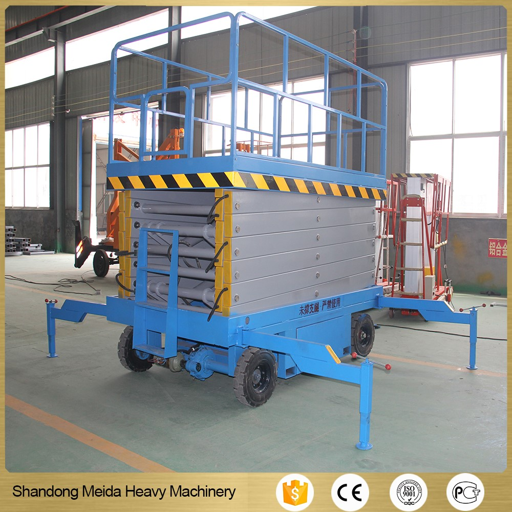 Scissors lift platform portable electric lifter Mobile electric scissor lifts