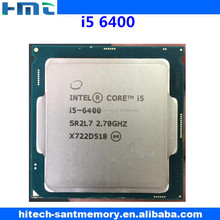 Dual-core CPU i5-6400 Processor lga1151 for desktop 2.7GHZ