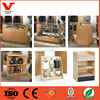 Wholesale china factory wooden clothing display shelf