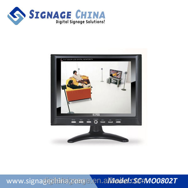 "22"" Digital Signage Best Industrial Grade LCD Computer Monitors for Commercial Use"