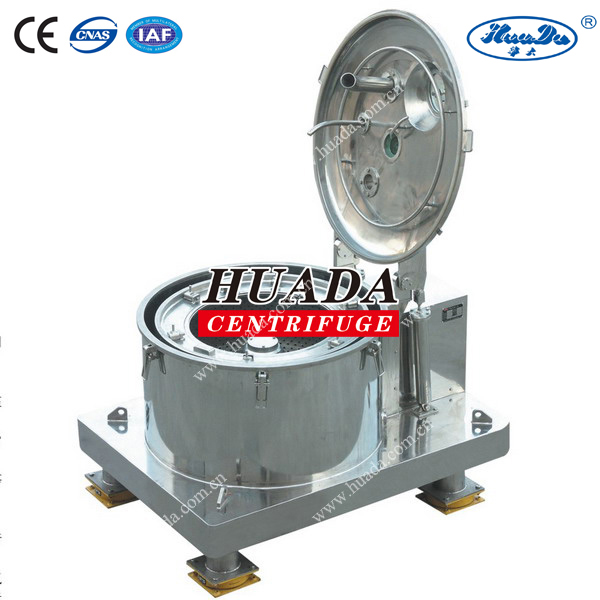 PSD Type Manual Sugar Separation Filtration Centrifuges With Bag-Lifting Top Discharge