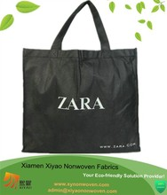 printed nonwoven material cloth carrying bag handle styles promotional