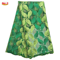 Green Nigerian Lace Styles Dress N1056