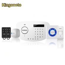 PSTN+GSM Wireless Smart Home Alarm System Support Remote Control By SMS Phone Call And APP