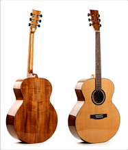 42 inch solid cedar wood acoustic guitar for sale