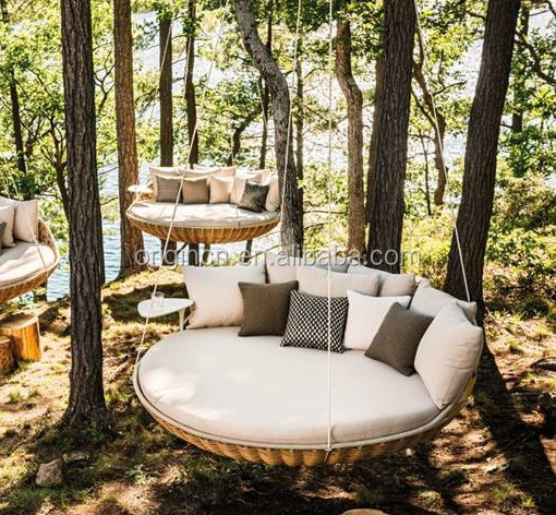 Comfortable Leisure Hanging Tree Furniture For Sunbathing