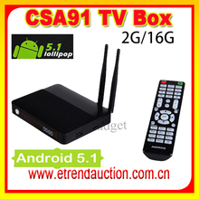 Octa core CSA91 CSA 91 rk3368 android 5.1 octacore 2g 16g 1000M Smart TV Box Support Arabic+French+Africa Channels IPTV TV Box