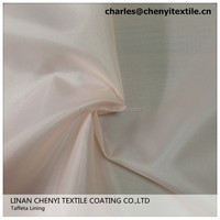 High Quality Taffeta Lining Fabric