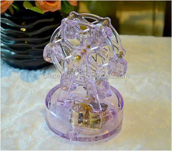 Deluxe Carousel horse musical movement box for sale romantic birthday gift for your girl friend