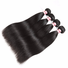 Best virgin unprocessed mink brazilian hair weaving bulk straight hair weft extension remy cuticle aligned raw hair from india