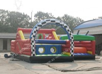 Outdoor large crazy fun inflatable sport games for adults and kids