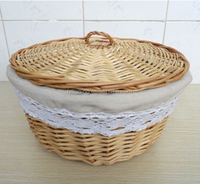 decorative tray wicker tray for bread with lids and handle cheap wicker serving tray with ears