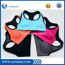 Spandex Removable Pads Comfort Bras