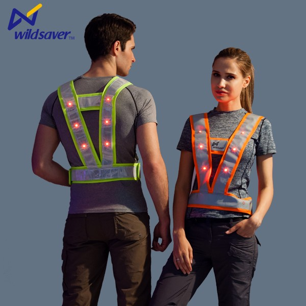 Job safety work traffic warning security work safety vest uniform