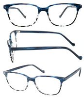 Fashion models in Europe and America retro neutral color designer glasses optical frames