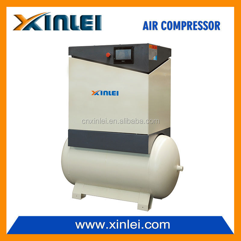 XLAM10AT-s2 direct driven industrial rotary screw air compressor 7.5KW 10HP with 270L tank