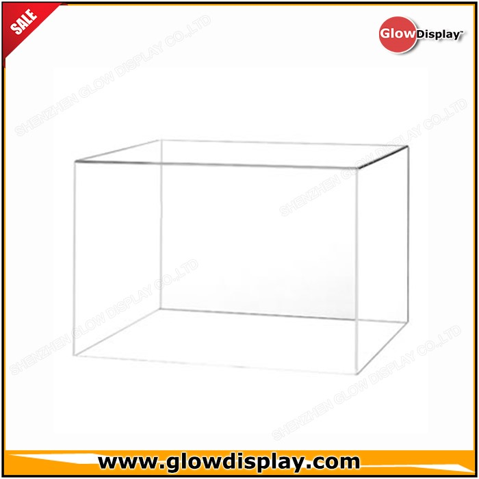 GlowDisplay China Wholesale Custom Sized Clear Acrylic Display Cover with no Base