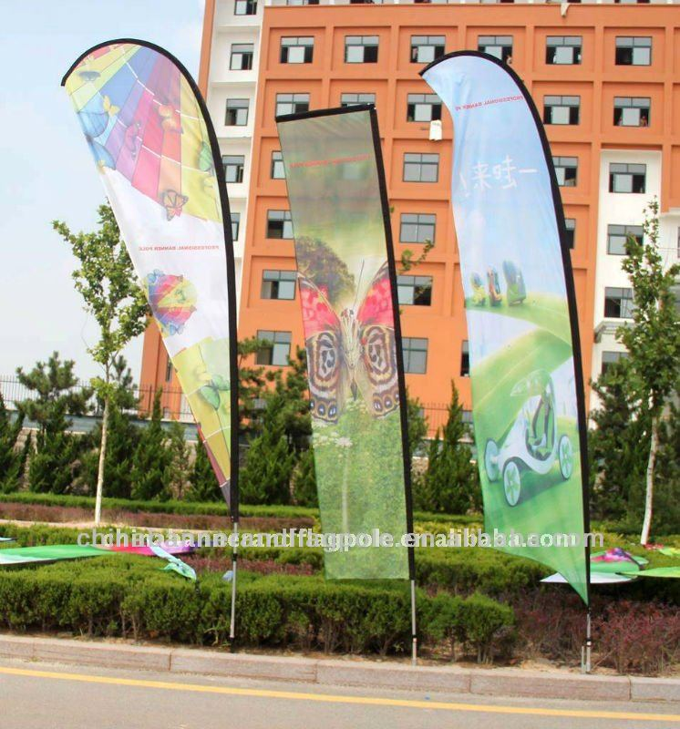 2013 Hot Sale Outdoor Indoor Flying Banner Flag Wholesale Beach Flag