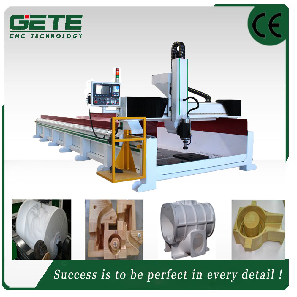 Best Design foam cutting 4axis cnc router Mould Making router