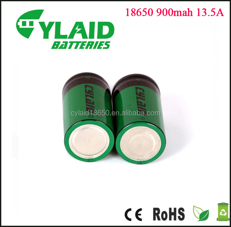Best Selling 18A 1200mah battery Cylaid 18500 battery rechargeable vaporizer battery mod