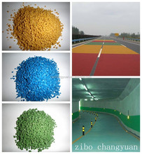 factory sale ceramic aggregate as new type road surface material
