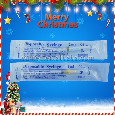 Disposable medical syringe factory directly supply
