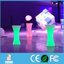 Glowing bar nightclub furniture illuminated led bar table