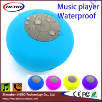2016 Round waterproof bluetooth speaker for promotion with your logo