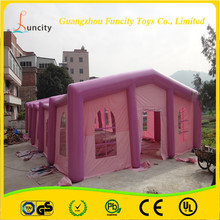 The most romantic PVC tarpaulin inflatable wedding tent, cube inflatable wedding party tent, inflatable party bar tent