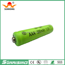 ni-mh aaa 300mah battery battery 1.2Vrechargeable battery