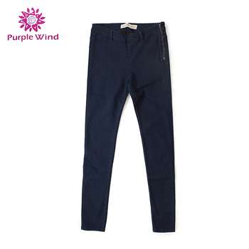 Promotional rough turkey stylish 100%Cotton rips skinny pants jeans
