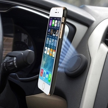 Newest Extra Slim Universal Stick on Flat Dashboard Smartphone Magnetic Car Mount Holder
