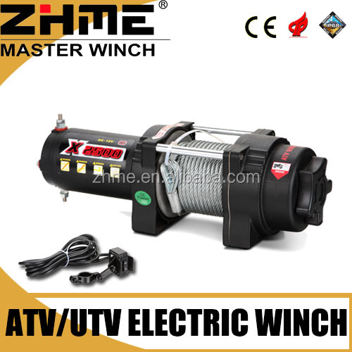 4x4 ATV 2500 electric winch