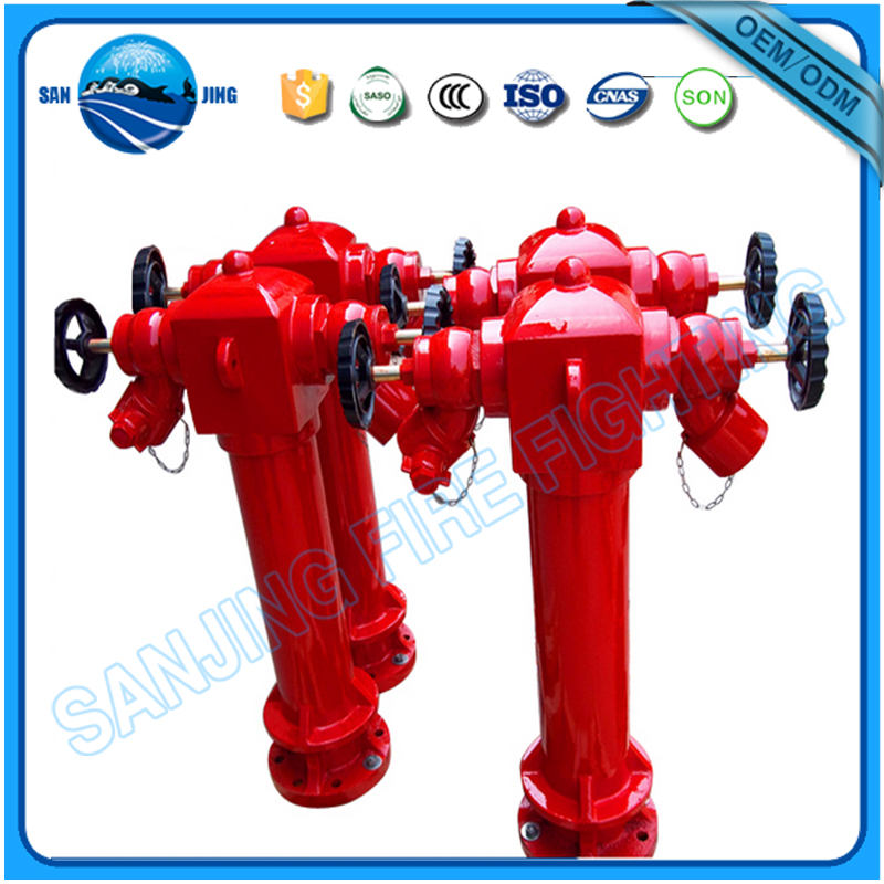 Fire hydrant stand pipe with BS and French type coupling