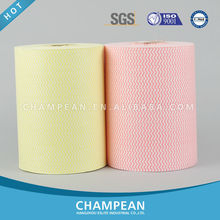 Paper Material and Other Spunlace Nonwoven Fabric for Jumbo Roll Wipers