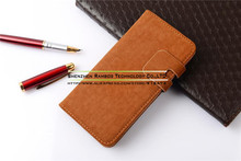 Wallet Credit Card Book Style Flip Stand Leather Case Back Cover for Moto XT910